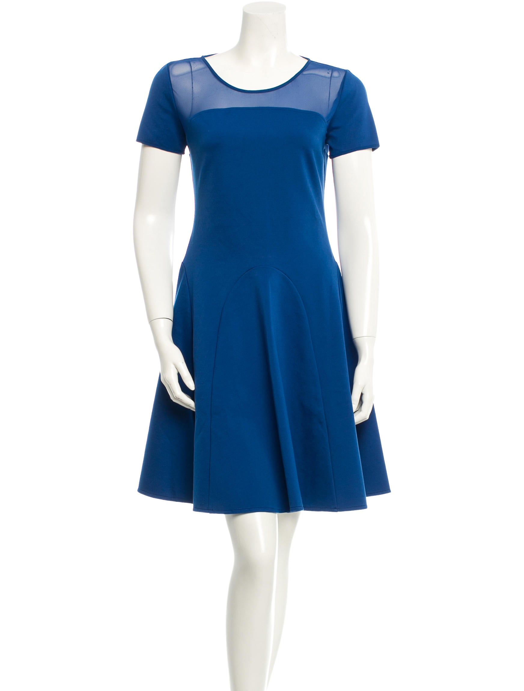 Halston heritage dress clothing wh121374 the realreal for Halston heritage shirt dress