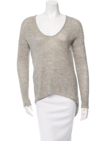 Helmut Lang Knit Long Sleeve Top None