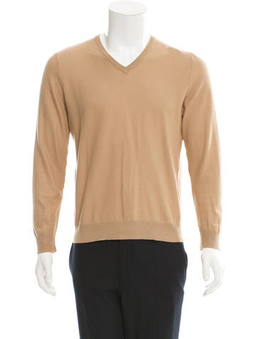 Helmut Lang Pullover V-Neck Sweater None