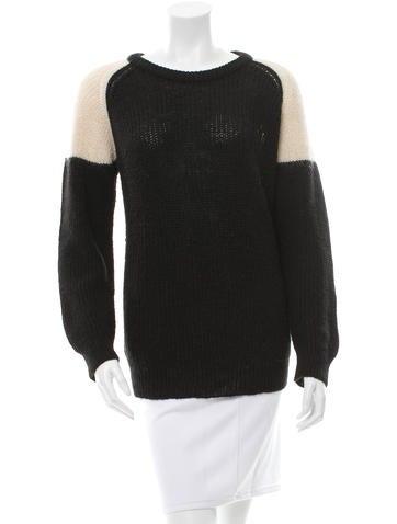 Iro Rib Knit Crew Neck Sweater None