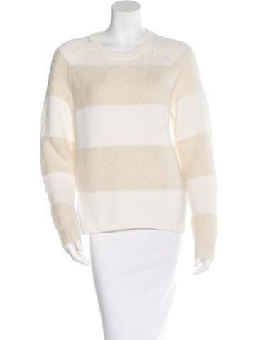 J Brand Striped Colorblock Sweater None