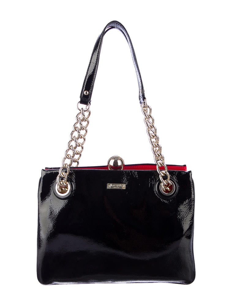 Kate Spade New York Zip Darcy Patent Leather Shoulder Bag 88