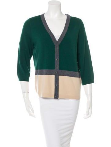 Kate Spade New York Wool Colorblock Cardigan None