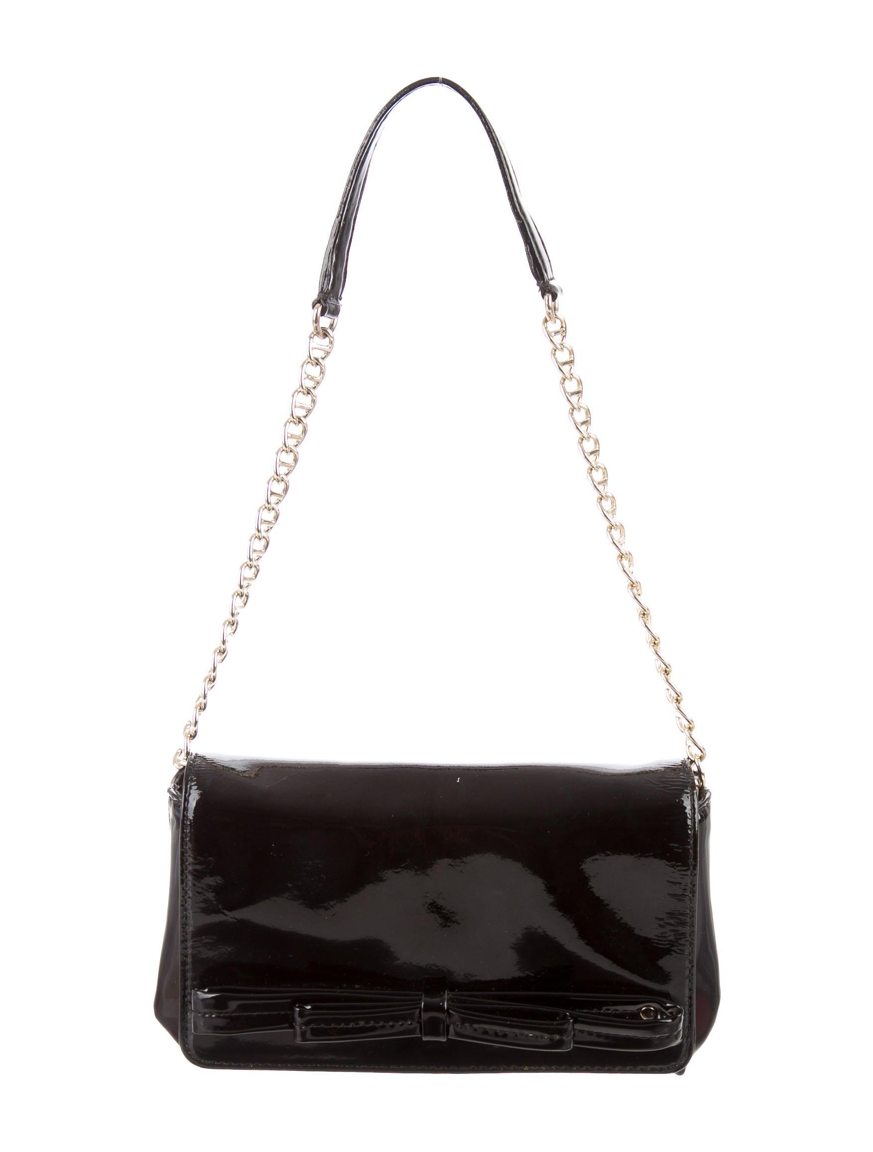 Kate Spade New York Patent Leather Shoulder Bag Handbags