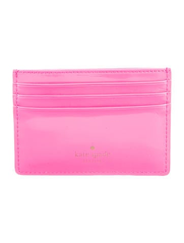 Kate Spade New York Patent Leather Cardholder None