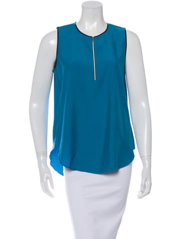 L'Agence Sleeveless Crew Neck Top w/ Tags None