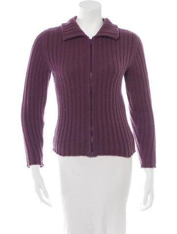 Lucien Pellat-Finet Rib Knit Cashmere Sweater None