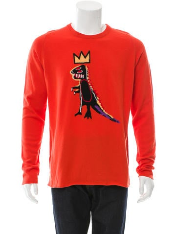 Lucien Pellat-Finet Cashmere Jean-Michel Basquiat Sweater w/ Tags None