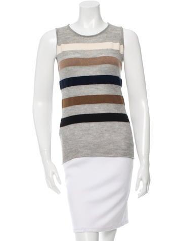 Lucien Pellat-Finet Striped Knit Top None