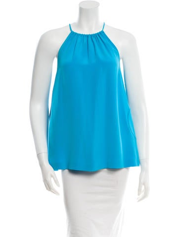 Lisa Perry Silk Circle Top w/ Tags None