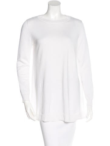 Lisa Perry Embroidered Long Sleeve Top None