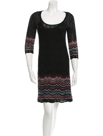 M Missoni Knitted Midi Dress None
