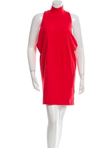 MM6 by Maison Martin Margiela Sleeveless Turtle Neck Dress None