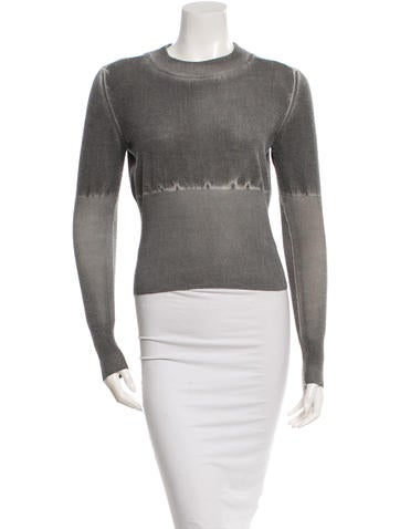 MM6 by Maison Martin Margiela Crew Neck Wool Sweater None