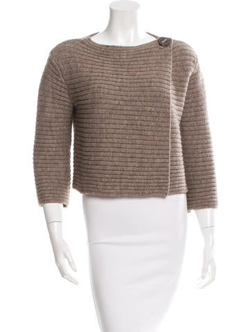 Magaschoni Cropped Knit Sweater None