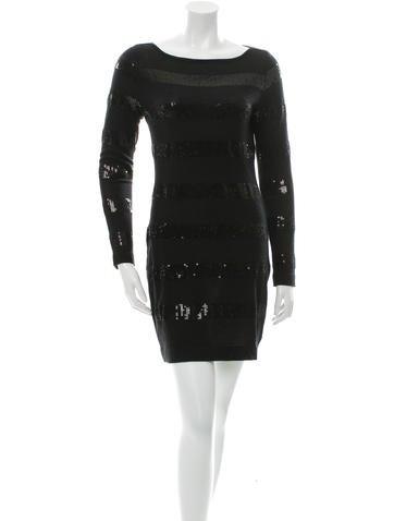 Magaschoni Silk & Cashmere-Blend Dress None