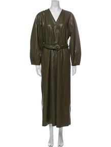 V-Neck Long Dress