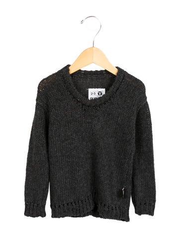 Nununu Boys' Pullover Rib Knit-Trimmed Sweater w/ Tags None
