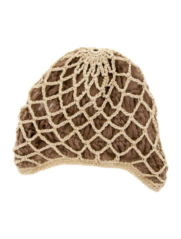 Opening Ceremony Metallic Knit Beanie Accessories
