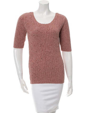 Opening Ceremony Rib Knit Open Back Sweater w/ Tags None