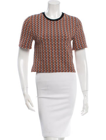 Opening Ceremony Patterned Crop Top w/ Tags None