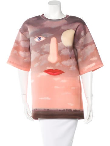 Opening Ceremony Neoprene Magritte Top None