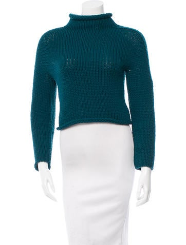 Opening Ceremony Wool Cropped Sweater None
