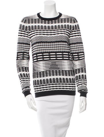 Opening Ceremony Patterned Knit Sweater None