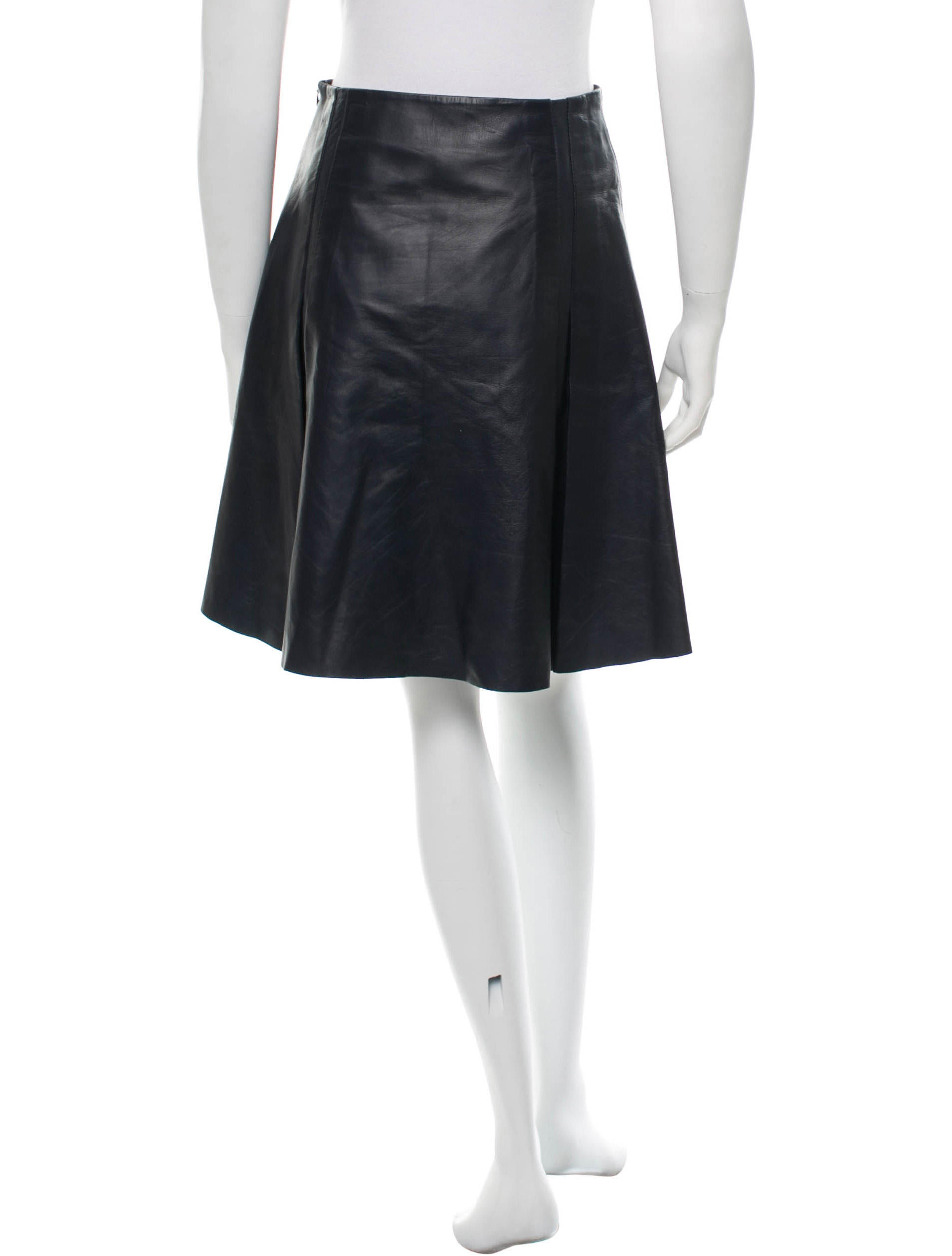 ohne titel leather a line skirt skirts won20430 the