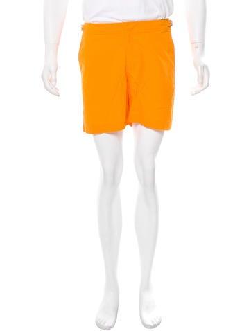 Orlebar Brown Buckle-Trimmed Bulldog Swim Shorts w/ Tags