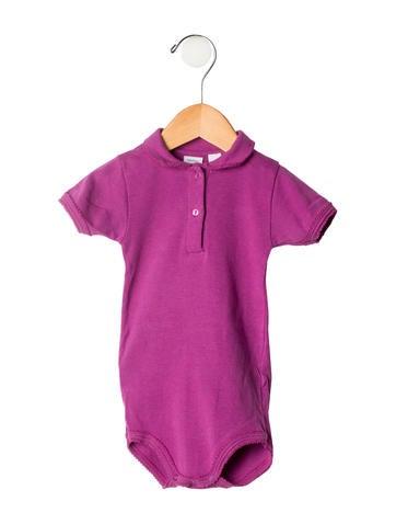 Petite Bateau Girls' Short Sleeve Bodysuit