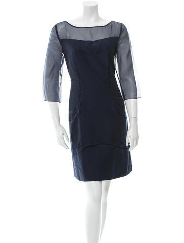 Philosophy di Alberta Ferretti Embroidered Mini Dress None