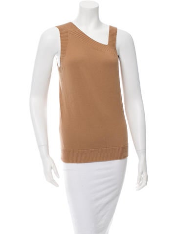 M.PATMOS Sleeveless Wool Top None
