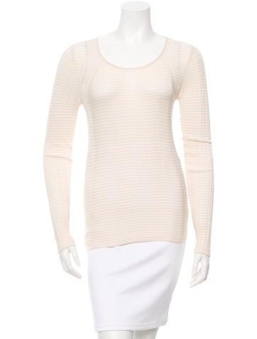 M.PATMOS Long Sleeve Rib Knit Top w/ Tags None