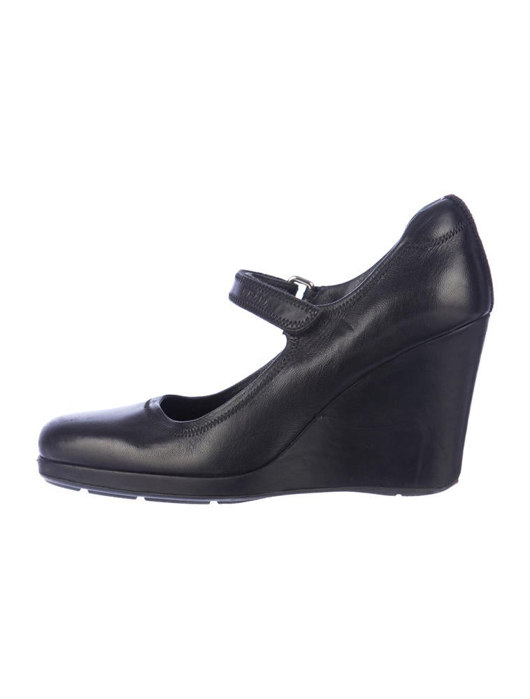 prada sport wedge pumps shoes wpr21471 the realreal
