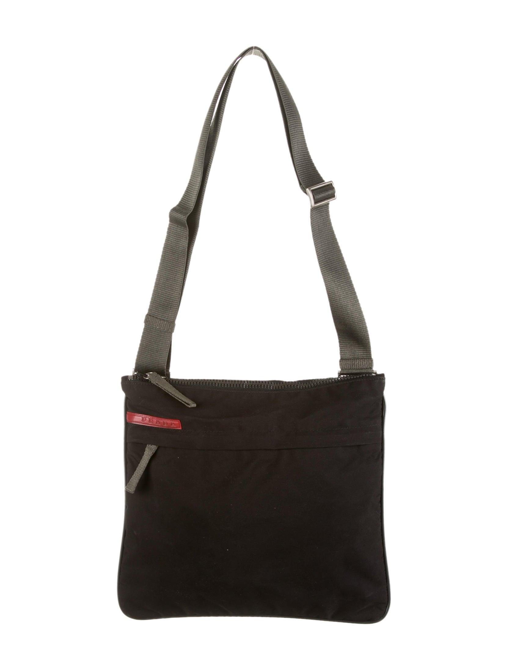 prada leather goods - Prada Sport Messenger Bag - Mens Bags - WPR25725 | The RealReal