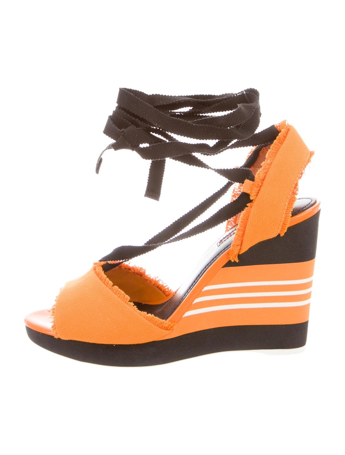 prada sport wedges shoes wpr27869 the realreal