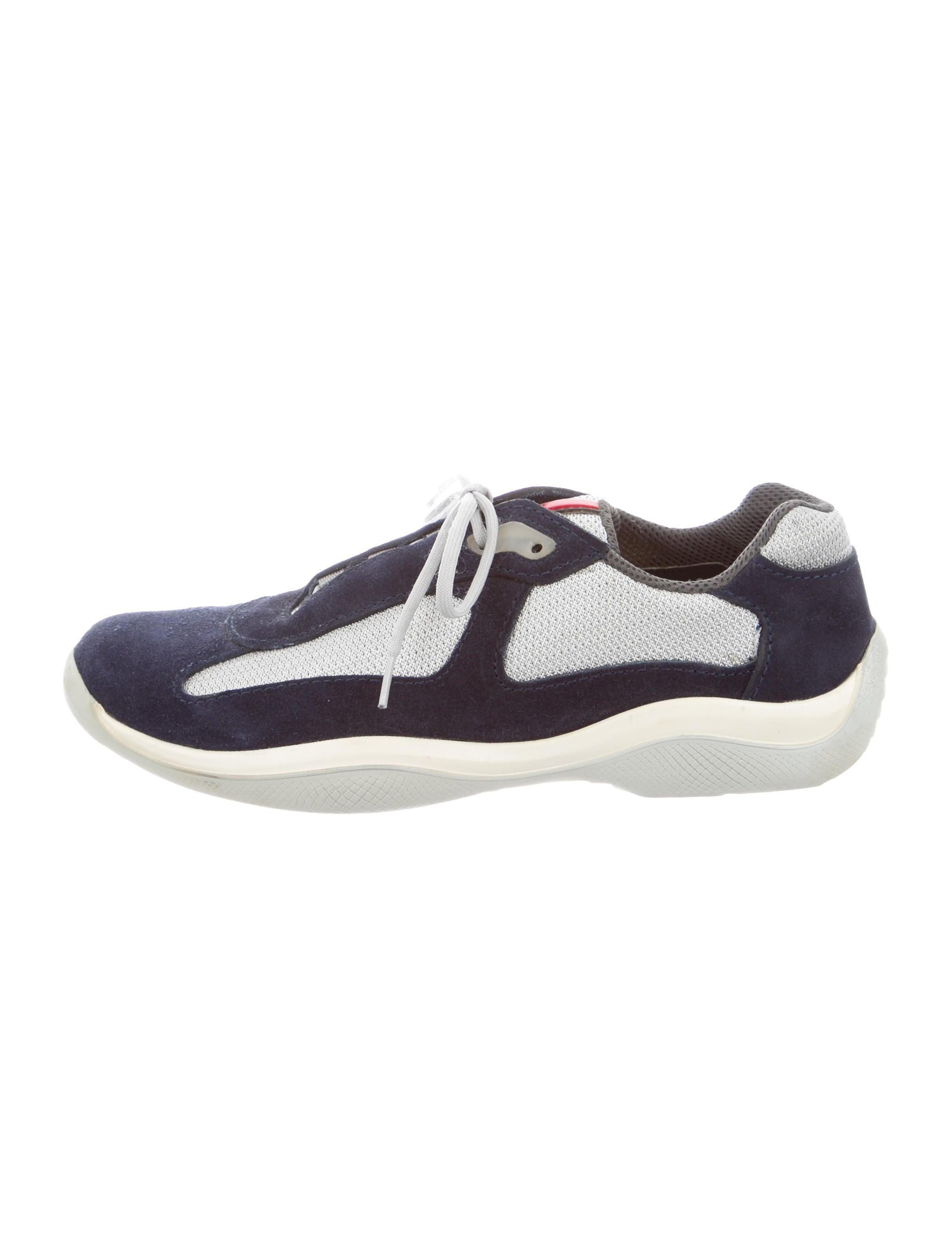 prada sport suede low top sneakers shoes wpr31556