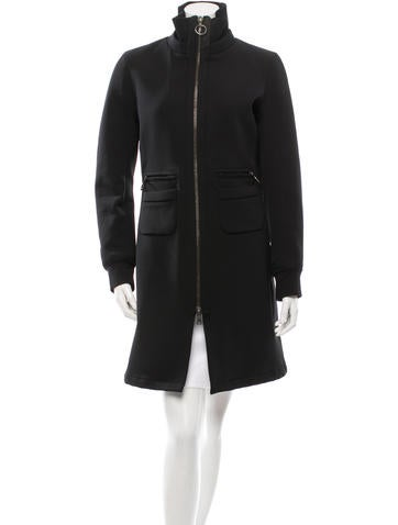 Prada Sport Fitted Knee-Length Coat None