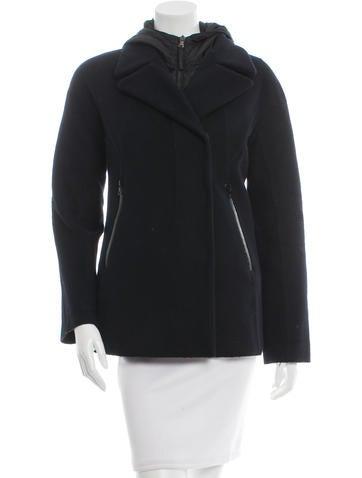 Prada Sport Wool Layered Jacket None