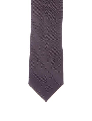 Paul Smith Anchor Embroidered Tie w/ Tags