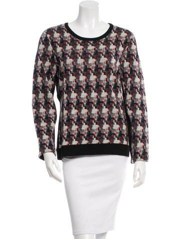 Rag & Bone Wool Patterned Sweater