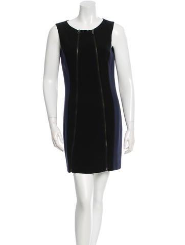 Rag & Bone Colorblock Mini Dress