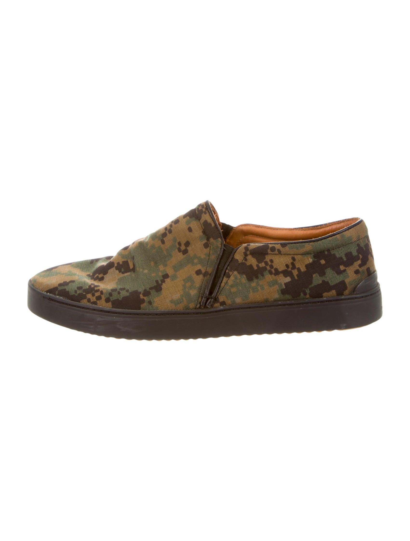 rag bone camouflage slip on sneakers shoes
