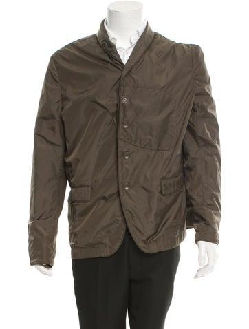 Rag & Bone Shawl Collar Button-Up Jacket