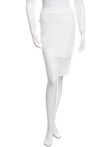 Rag & Bone Patterned Knee-Length Skirt w/ Tags None