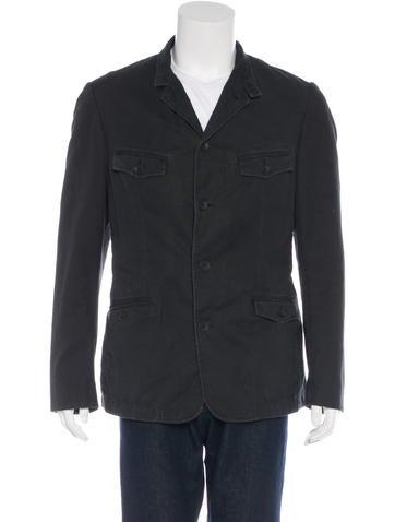 Rag & Bone Distressed Woven Sports Coat