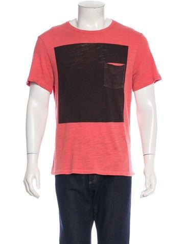 Rag & Bone Short Sleeve Graphic T-Shirt