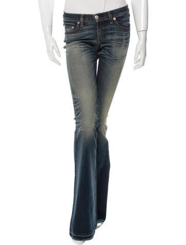 Rag & Bone Mid-Rise Flared Jeans w/ Tags