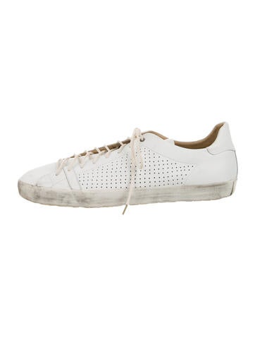Rag & Bone Distressed Perforated Sneakers